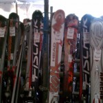 Discounted Ski's at Buck Hill Tent Sale