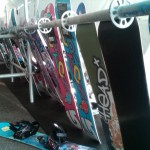 More Snowboards at Buck Hill Tent Sale